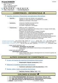 Réferences Lionel Scheeven Développeur Informatique